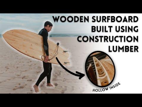 We Built a Hollow Wooden Surfboard!
