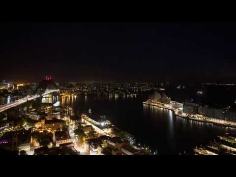 Sydney Harbour Day To Night Timelapse From Four Seasons Hotel Sydney