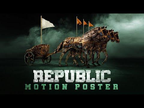 Republic Motion Poster   Sai Tej   Aishwarya Rajesh   Jagapathibabu  Ramya   Deva Katta  Mani Sharma