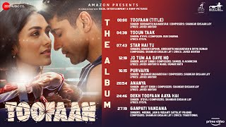 Toofaan - The Album | Farhan Akhtar & Mrunal Thakur | Shankar Ehsaan Loy | Javed Akhtar Images