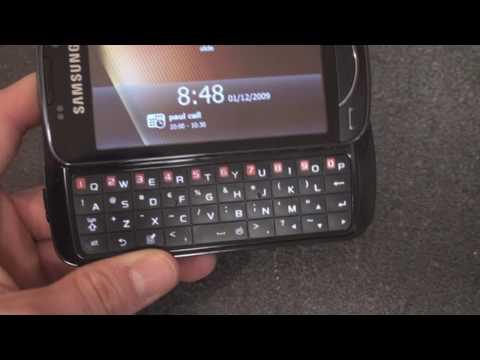 Samsung Omnia Pro B7610 Hardware Tour