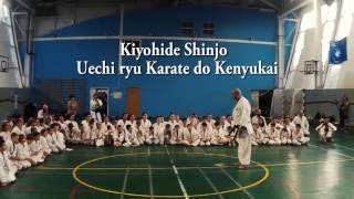 Kata Kanchin / Kiyohide Shinjo Sensei 9 Dan Uechi Ryu Kenyukai