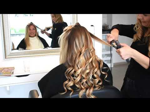 How To Curl Hair With A Flat Iron Tutorial - Long Lasting