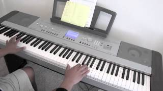 Tobuscus - The Sideburns Song - Piano Cover