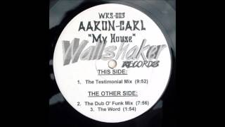 Aaron Carl - The Word (Let Me Tell You Something About House Music Original Acapella)