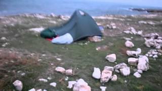 Ветер и палатки на Тарханкуте(2014.10.26 Тарханкут., 2015-01-15T15:15:52.000Z)