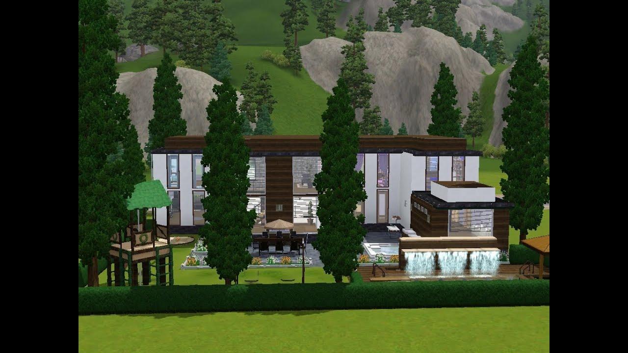 Sims 3 haus bauen lets build viel platz auf kleinem grundstück