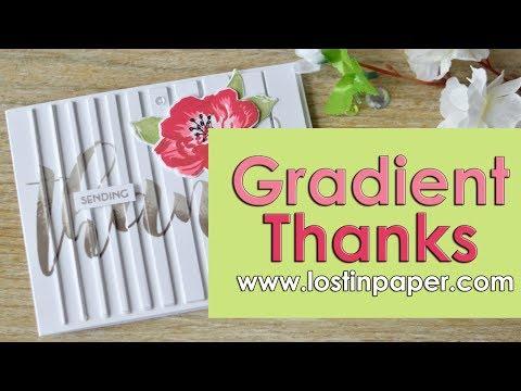 Gradient Thanks - Altenew Release & Hop!