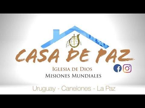 """Iglesia Casa De Paz /Mensaje : """" Paz En Medio De La Tormeta""""/ Máster #86"""