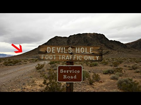 Nevada's Devils Hole - Portal to an Underworld Area 51- Las Vegas
