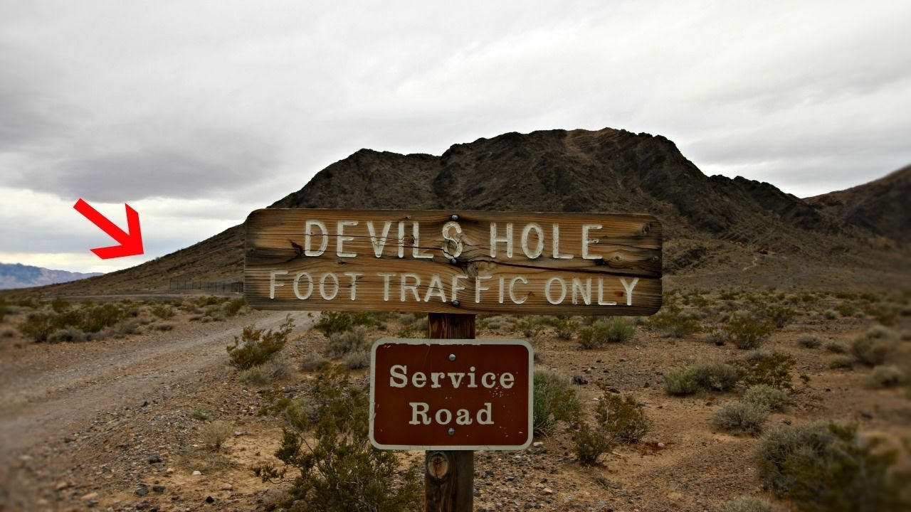 Nevada's Devils Hole - Portal to an Underworld Area 51- Las Vegas