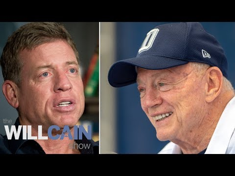 Troy Aikman says he and Jerry Jones' relationship is good | Will Cain Show