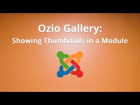 #7. Ozio Gallery: Showing Thumbnails In A Module