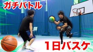【1on1】本気で1日バスケを教わったら引退した経験者にも勝てるのか!?【打倒シルク】