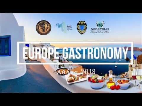 Europe Gastronomy Athens 2018