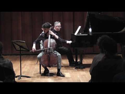 Brahms Cello Sonata in F Major - G. Vellvé