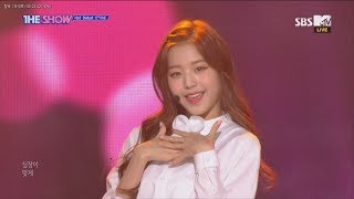 IZ*ONE, O' My! [THE SHOW 181113]