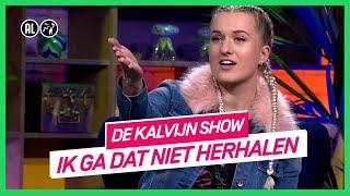 Britt Dekker is wel eens té eerlijk! | De Kalvijn Show #5 | NPO 3 TV