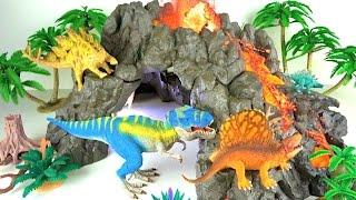 Learn Dinosaur names Dinosaur toys - kids children toddlers learning Jurassic World 🌋