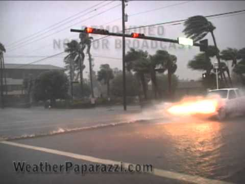 Hurricane Wilma, Marco Island and Naples Florida Stock Video Catalog Package.