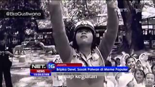 Bripka Dewi, Meme Polwan yang Populer di Media Sosial - NET16