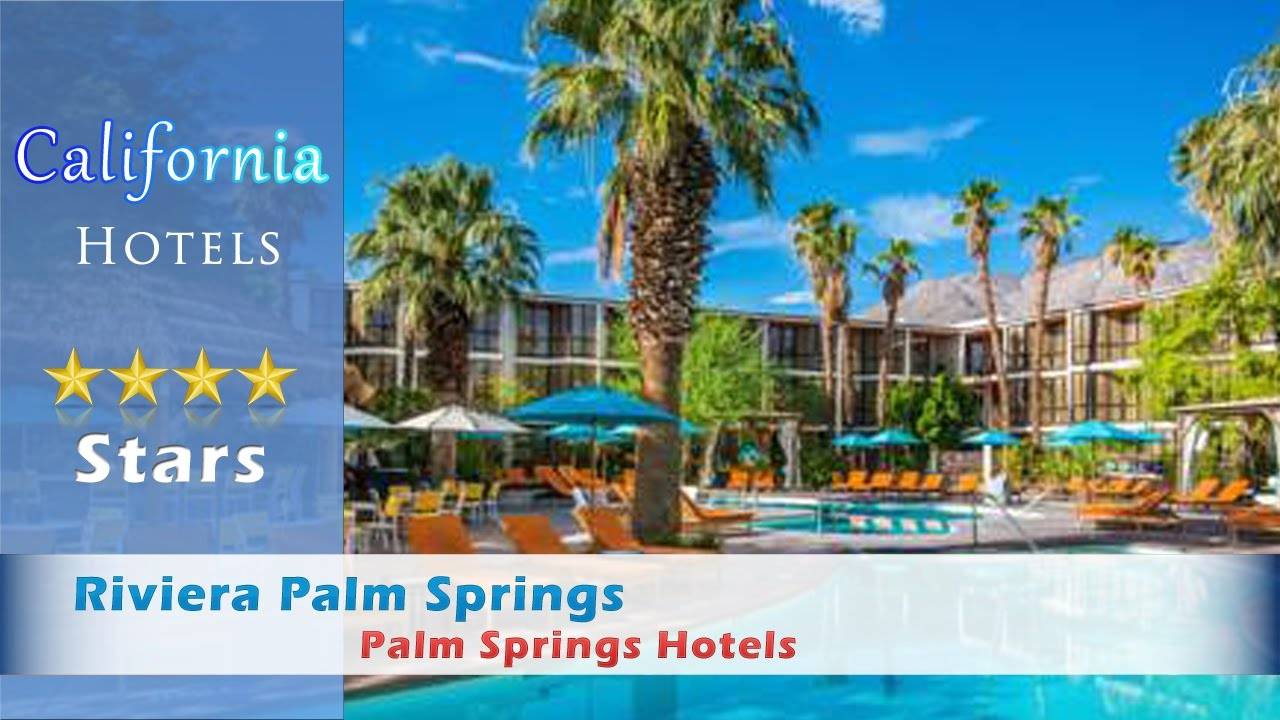 Riviera Palm Springs Tribute Portfolio By Starwood Hotels California