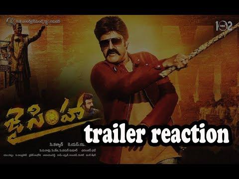 JAI SIMHA trailer reaction | NBK 102 |...