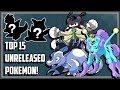 Top 15 Unreleased Pokemon That Got Rejected!