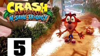 CRASH BANDICOOT 2 REMASTERED PART 5  HELP FROM  A BANDI-FAN!