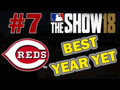 BEST YEAR YET | DRAFT ONLY FRANCHISE CHALLENGE EPISODE 7 | CINCINNATI REDS MLB 18 FRANCHISE