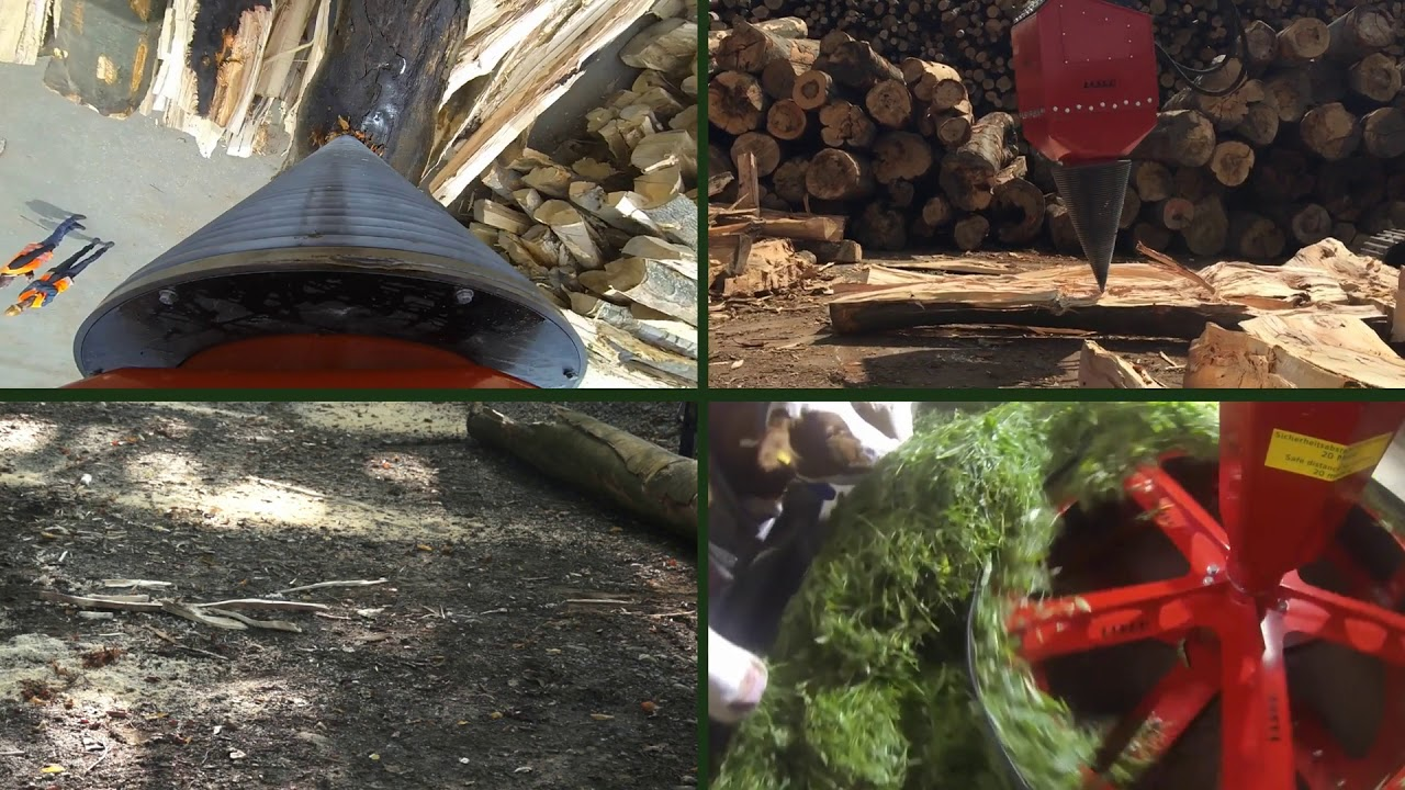 Berühmt Kegelspalter, Holzspalter Bagger sowie Baggerspalter auch @YR_08