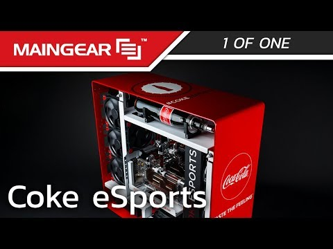 MAINGEAR x Coke eSports Collab - 1ofONE Coca-Cola Gaming PC #COKEESPORTS