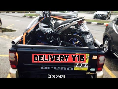 Delivery Y15 Ke Kuantan : Masalah Wire Kunci, Motor Mati