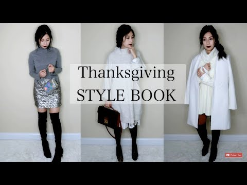 How To Style: 3 Thanksgiving Outfit Ideas  Celine Trapeze