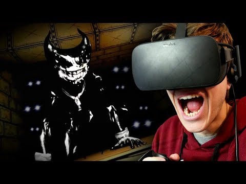 NEVER FOLLOW BENDY THE INK DEMON!!   Bendy and The Ink Machine in VR (BATIM Virtual Reality)