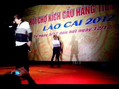 HKT biểu diễn tại phố mới lào cai.3gp