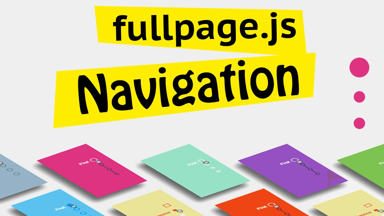 fullPage js Extensions