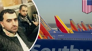 Islamophobia? American pizza shop owners speaking Arabic held back from Southwest flight - TomoNews