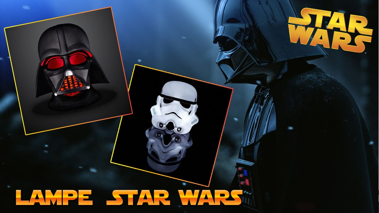 lampe veilleuse dark vador et stormtroopers star wars youtube. Black Bedroom Furniture Sets. Home Design Ideas