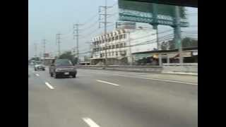 Highway 1 from Bangkok to Saraburi