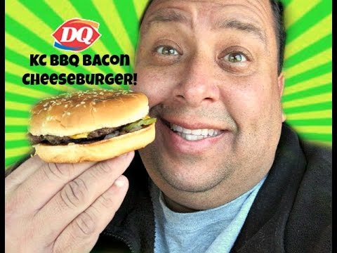 Dairy Queen® KC BBQ Bacon Cheeseburger REVIEW!