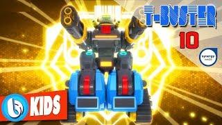 Phim Hoạt Hình Robot Người Máy T-Buster tập 10 | Hoạt Hình 3D Hay 2017
