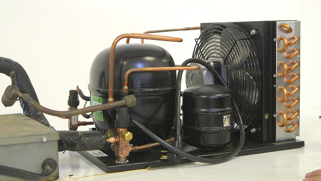 how to install a condensing unit with danfoss [ 1280 x 720 Pixel ]