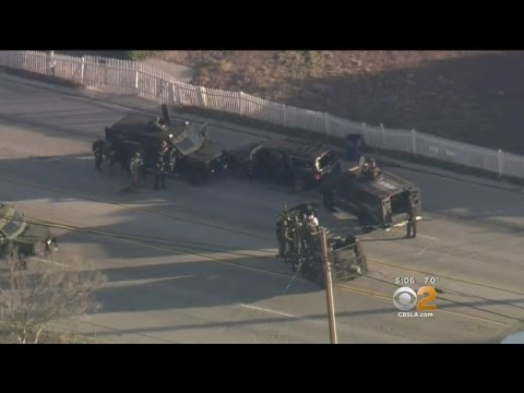 Report Details Gun Battle Between Police, Suspects In San Bernardino Massacre