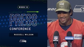 Quarterback Russell Wilson Week 10 Press Conference | Seahawks 2019