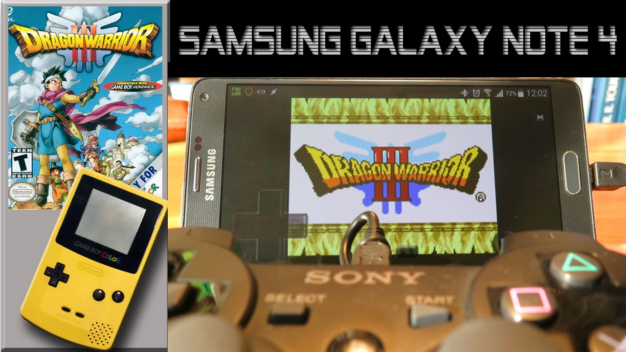 Gameboy color ad - Ga Gameboy Color Ad Gameboy Color Emulator On Samsung Galaxy Note 4 Dragon Warrior Iii
