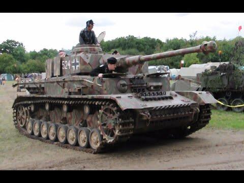German Panzer IV driving - Beltring 2011