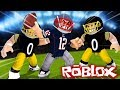 Roblox | NFL FOOTBALL: Patriots vs Steelers! (Roblox Football Game)