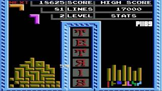 Tengen Tetris - The Soviet Mind Game NES Gameplay [Nostalgia] (HD)