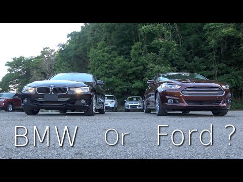 Head to Head! BMW 328i XDrive VS Ford Fusion 2.0 Ecoboost AWD - Is BMW still the King ?